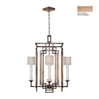 Fine Art Lamps 889040-31ST Cienfuegos 4 Light 24 inch Soft Gold Chandelier Ceiling Light