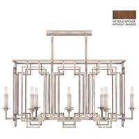 Fine Art Lamps 889240-1ST Cienfuegos 8 Light 42 inch Bronze Chandelier Ceiling Light