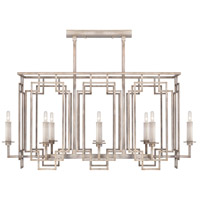 Fine Art Lamps 889240-2ST Cienfuegos 8 Light 42 inch Gray Chandelier Ceiling Light