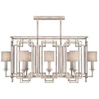 Fine Art Lamps 889240-21ST Cienfuegos 8 Light 44 inch Gray Chandelier Ceiling Light
