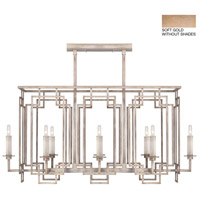 Fine Art Lamps 889240-3ST Cienfuegos 8 Light 42 inch Gold Chandelier Ceiling Light