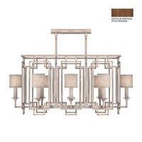 Fine Art Lamps 889240-11ST Cienfuegos 8 Light 44 inch Antiqued Bronze Chandelier Ceiling Light