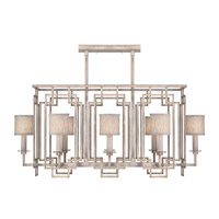 Fine Art Lamps 889240-21ST Cienfuegos 8 Light 44 inch Weathered Gray Patina Chandelier Ceiling Light