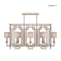 Fine Art Lamps 889240-2ST Cienfuegos 8 Light 42 inch Weathered Gray Patina Chandelier Ceiling Light