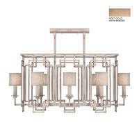 Fine Art Lamps 889240-31ST Cienfuegos 8 Light 44 inch Soft Gold Chandelier Ceiling Light