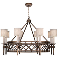 Fine Art Lamps 889440-11ST Cienfuegos 8 Light 39 inch Bronze Chandelier Ceiling Light