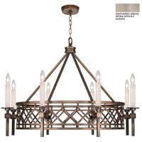 Fine Art Lamps 889440-2ST Cienfuegos 8 Light 38 inch Gray Chandelier Ceiling Light
