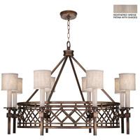 Fine Art Lamps 889440-21ST Cienfuegos 8 Light 39 inch Gray Chandelier Ceiling Light