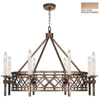 Fine Art Lamps 889440-3ST Cienfuegos 8 Light 38 inch Gold Chandelier Ceiling Light