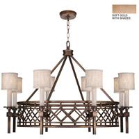 Fine Art Lamps 889440-31ST Cienfuegos 8 Light 39 inch Gold Chandelier Ceiling Light