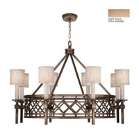 Fine Art Lamps 889440-31ST Cienfuegos 8 Light 39 inch Soft Gold Chandelier Ceiling Light