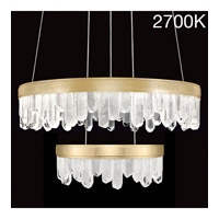 Lior LED 31 inch Gold Pendant Ceiling Light