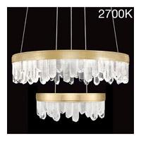 Fine Art Lamps 889640-21ST Lior LED 31 inch Gold Pendant Ceiling Light