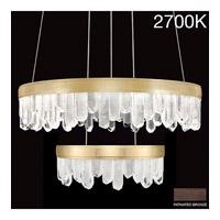 Fine Art Lamps 889640-31ST Lior LED 31 inch Bronze Pendant Ceiling Light