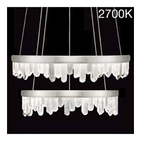 Fine Art Lamps 889740-11ST Lior LED 41 inch Silver Pendant Ceiling Light