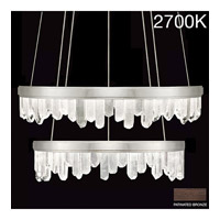 Fine Art Lamps 889740-31ST Lior LED 41 inch Bronze Pendant Ceiling Light