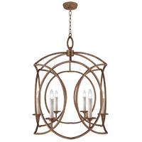 Fine Art Lamps 889840-1ST Cienfuegos 6 Light 29 inch Bronze Chandelier Ceiling Light