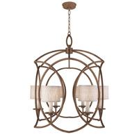 Fine Art Lamps 889840-11ST Cienfuegos 6 Light 31 inch Bronze Chandelier Ceiling Light