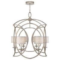 Fine Art Lamps 889840-21ST Cienfuegos 6 Light 31 inch Gray Chandelier Ceiling Light
