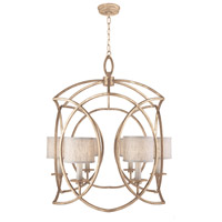 Fine Art Lamps 889840-31ST Cienfuegos 6 Light 31 inch Gold Chandelier Ceiling Light