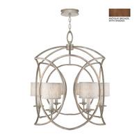 Fine Art Lamps 889840-11ST Cienfuegos 6 Light 31 inch Antiqued Bronze Chandelier Ceiling Light