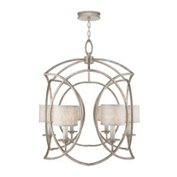 Fine Art Lamps 889840-21ST Cienfuegos 6 Light 31 inch Weathered Gray Patina Chandelier Ceiling Light
