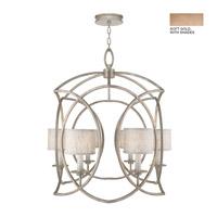 Fine Art Lamps 889840-31ST Cienfuegos 6 Light 31 inch Soft Gold Chandelier Ceiling Light