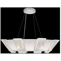 Fine Art Lamps 890640-11ST Crownstone 16 Light 38 inch Silver Pendant Ceiling Light
