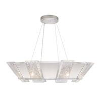 Fine Art Lamps 890640-11ST Crownstone 16 Light 38 inch Silver Pendant Ceiling Light