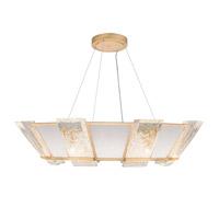 Fine Art Lamps 890640-21ST Crownstone 16 Light 38 inch Gold Pendant Ceiling Light