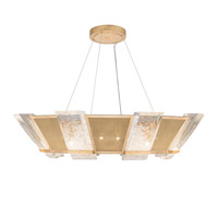 Fine Art Lamps 890640-22ST Crownstone 16 Light 38 inch Gold Pendant Ceiling Light