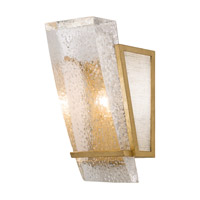 Gold Crownstone Wall Sconces