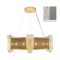 Crownstone 12 Light 32 inch Silver Pendant Ceiling Light
