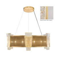 Crownstone 12 Light 32 inch Gold Pendant Ceiling Light