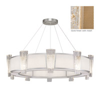 Crownstone 20 Light 45 inch Gold Pendant Ceiling Light