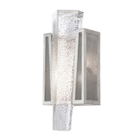 Fine Art Lamps 891150-12ST Crownstone 1 Light 7 inch Silver Wall Sconce Wall Light