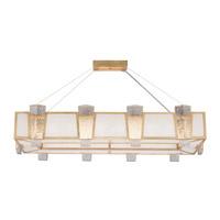 Fine Art Lamps 891240-21ST Crownstone 16 Light 52 inch Gold Pendant Ceiling Light