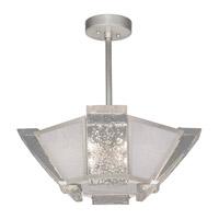 Fine Art Lamps 891340-11ST Crownstone 4 Light 23 inch Silver Semi-Flush Mount Ceiling Light