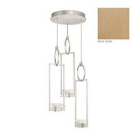 Fine Art Lamps 892940-2ST Delphi LED 19 inch Gold Pendant Ceiling Light
