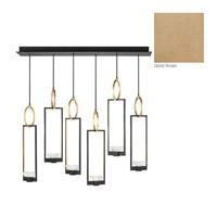 Fine Art Lamps 893140-2ST Delphi LED 48 inch Gold Pendant Ceiling Light