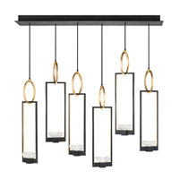 Delphi LED 48 inch Black Pendant Ceiling Light