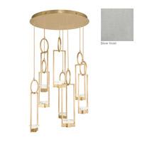 Fine Art Lamps 893240-1ST Delphi LED 34 inch Silver Pendant Ceiling Light