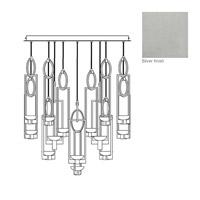 Fine Art Lamps 893440-1ST Delphi LED 46 inch Silver Pendant Ceiling Light
