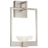 Fine Art Lamps 893550-1ST Delphi LED 10 inch Silver Sconce Wall Light