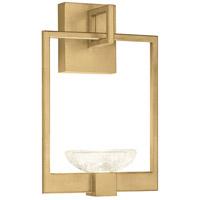 Fine Art Lamps 893550-2ST Delphi LED 10 inch Gold Sconce Wall Light