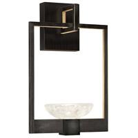 Fine Art Lamps 893550-3ST Delphi LED 10 inch Black Sconce Wall Light