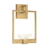 Fine Art Lamps 893550-2ST Delphi LED 10 inch Gold Sconce Wall Light
