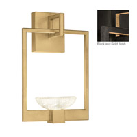 Fine Art Lamps 893550-3ST Delphi LED 10 inch Black Wall Sconce Wall Light