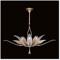 Fine Art Lamps 893740-21ST Plume 8 Light 40 inch Gold Pendant Ceiling Light