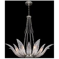 Fine Art Lamps 894040-1ST Plume 8 Light 39 inch Silver Pendant Ceiling Light